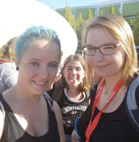 Charly, Josi und ich fbm18